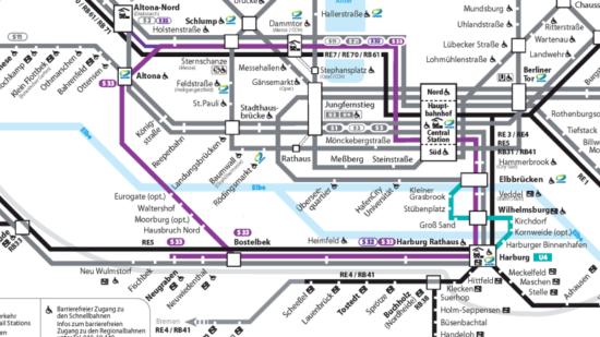 S-Bahn durch den Elbtunnelv