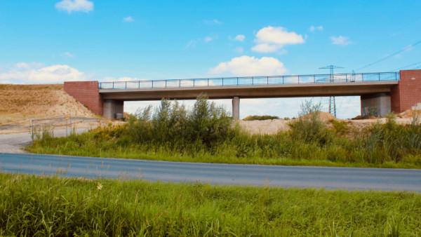 Brückenbau B3neu zwischen Neu Wulmstorf und Rübke