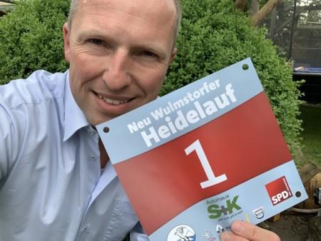 Tobias Handtke mit Startnummer