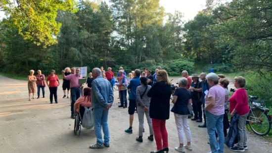 """""""Info-Tour"""" der SPD Neu Wulmstorf 2021 mit der 12. Etappe am Moorweg und Friedhof"""