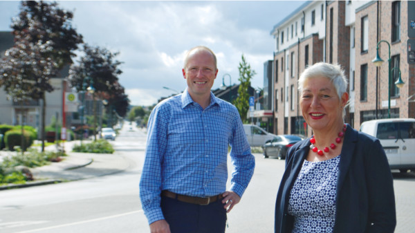 Petra Andersen und Tobias Handtke